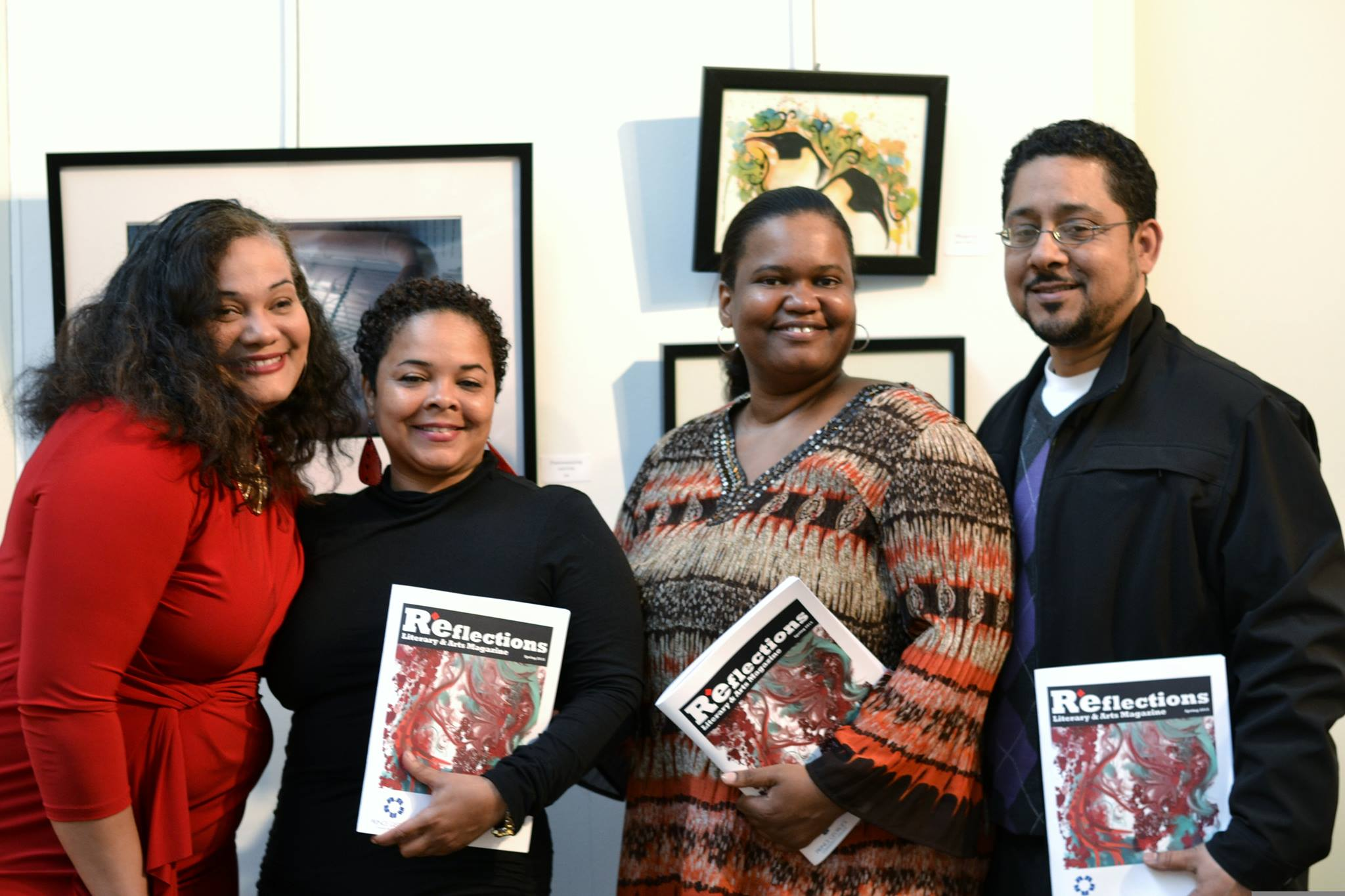 Liberated Muse Members Published in PGCC's Reflections Literary Magazine